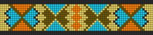 Alpha Friendship Bracelet Pattern #13093