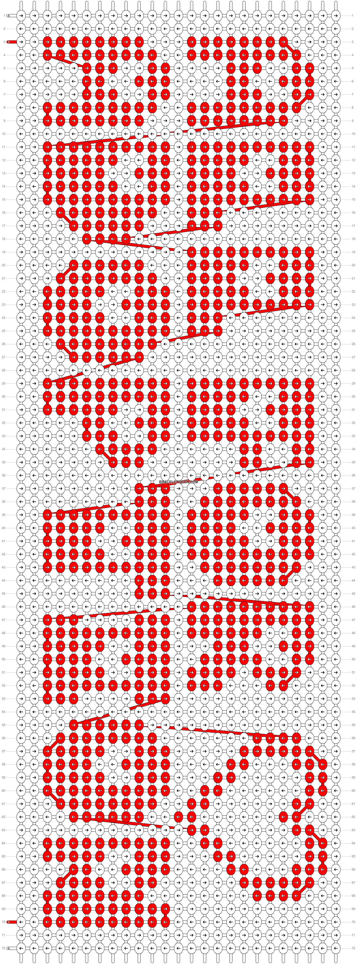 Alpha pattern #13096 pattern