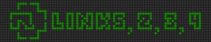 Alpha pattern #13102