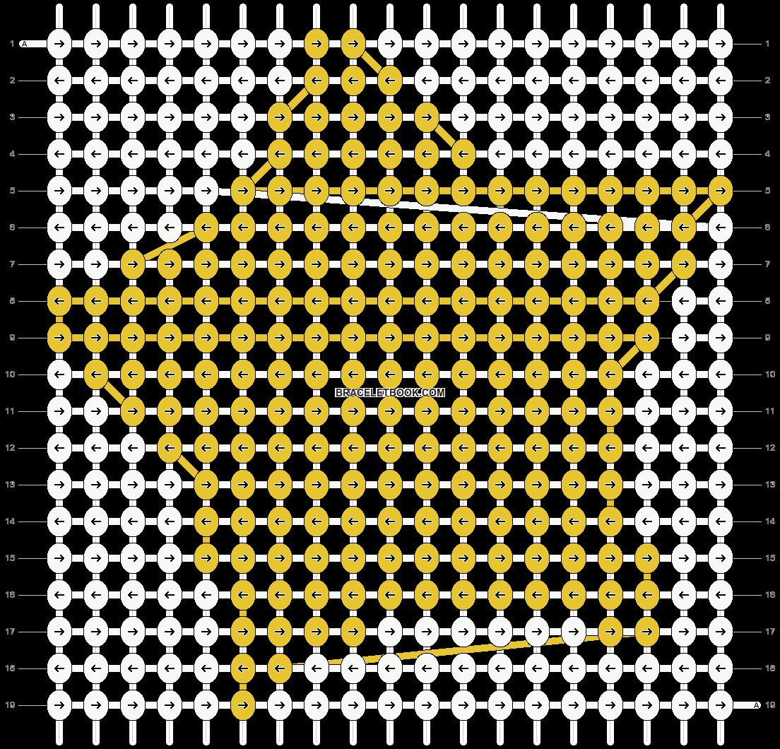Alpha pattern #13105 pattern