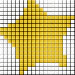 Alpha pattern #13105