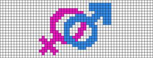 Alpha pattern #13107
