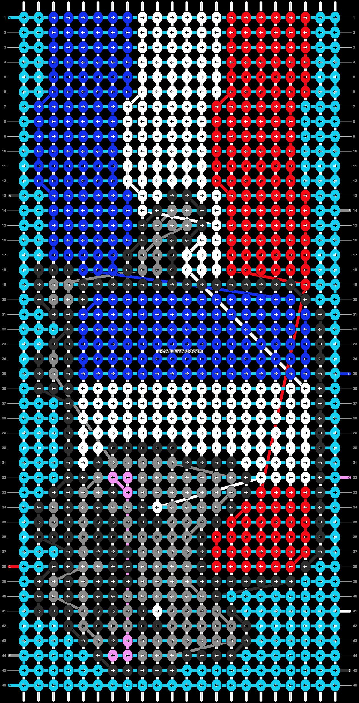 Alpha pattern #13112 pattern