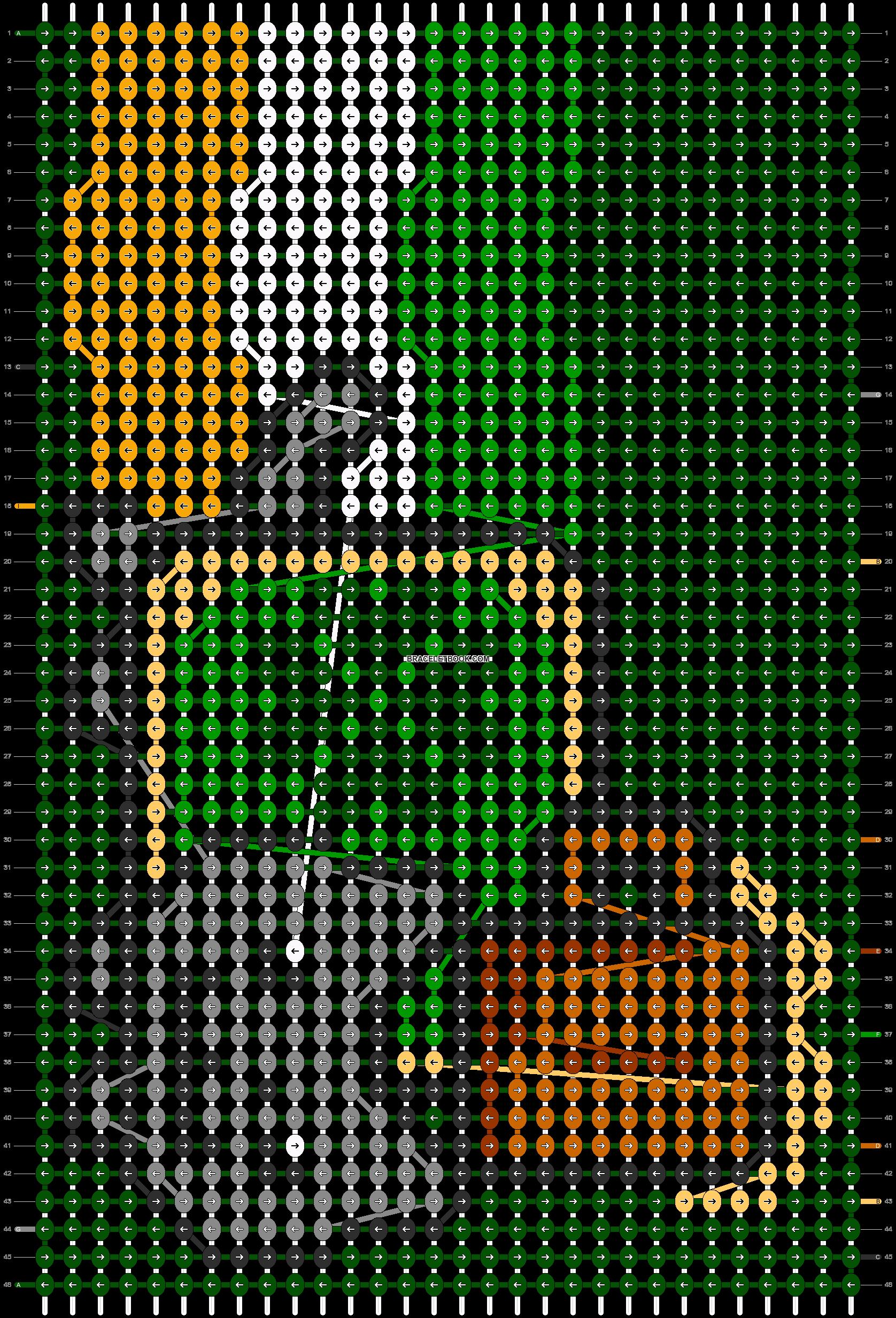 Alpha pattern #13113 pattern