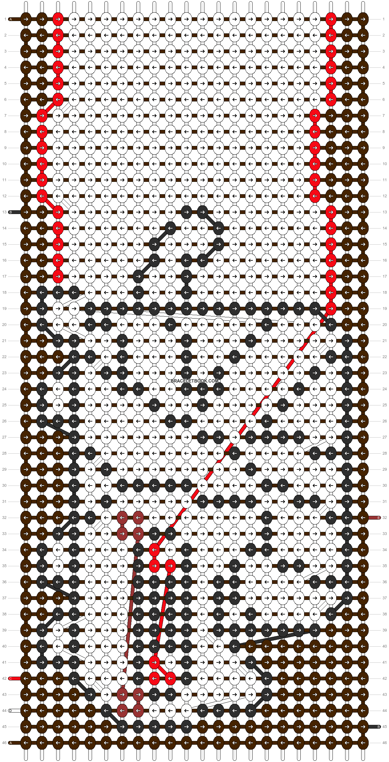 Alpha pattern #13114 pattern