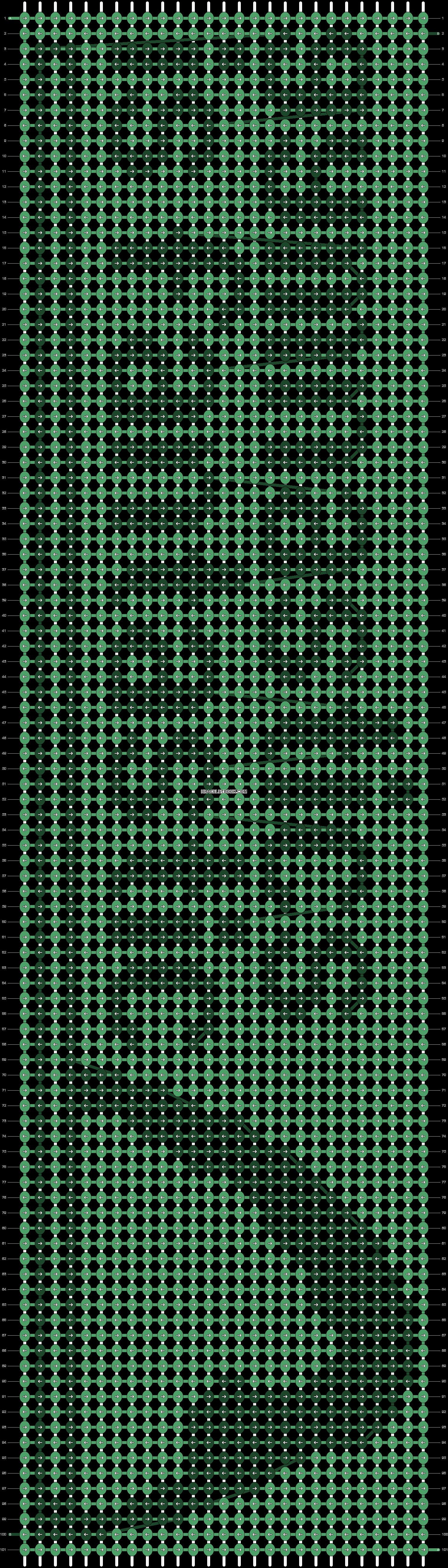 Alpha pattern #13115 pattern
