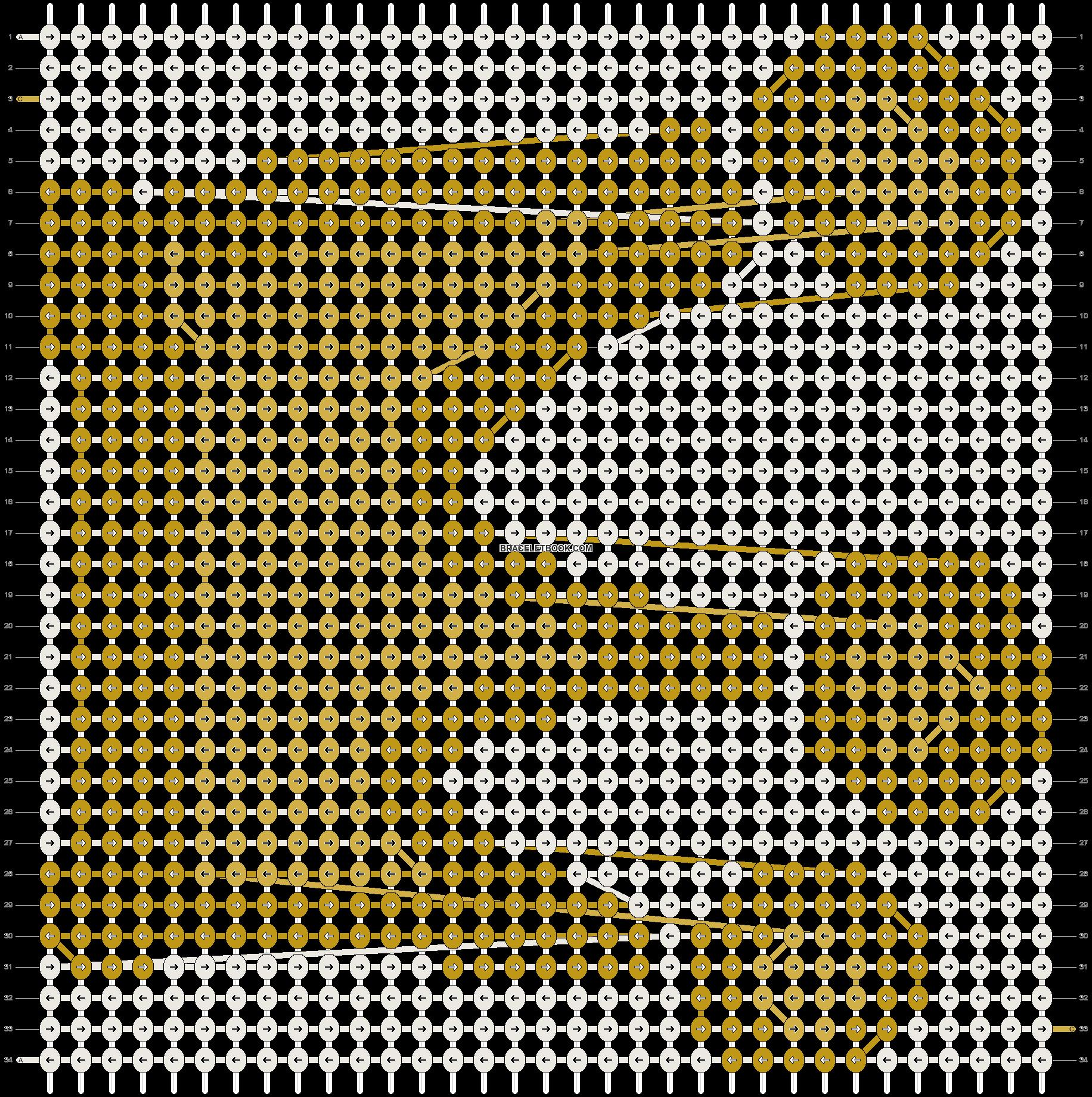 Alpha pattern #13119 pattern