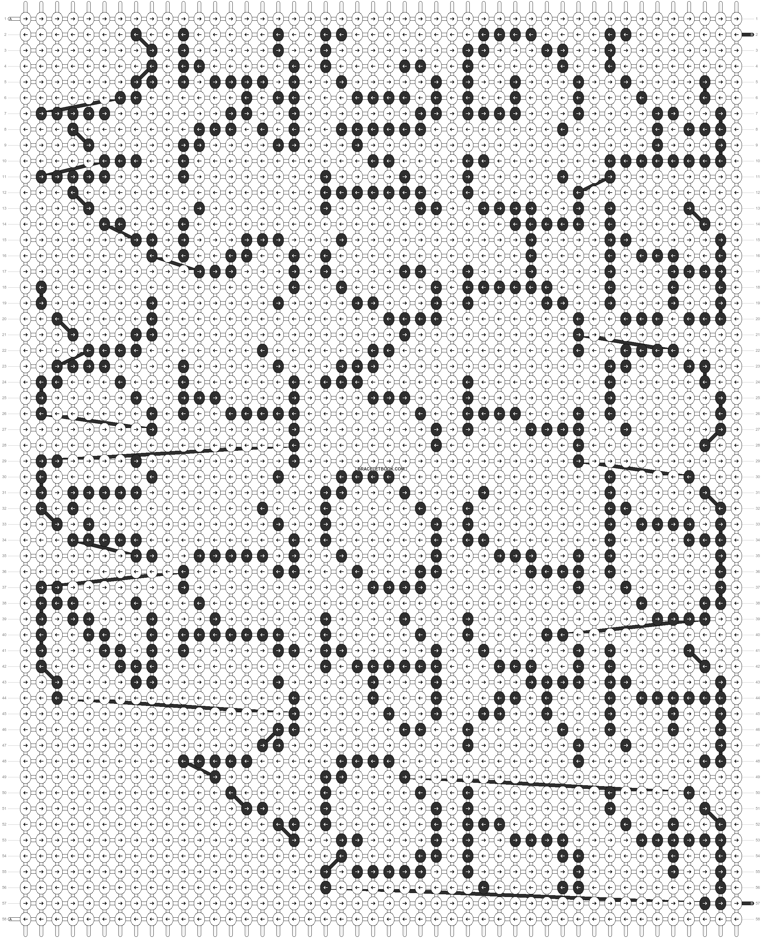 Alpha pattern #13123 pattern