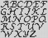 Alpha pattern #13123