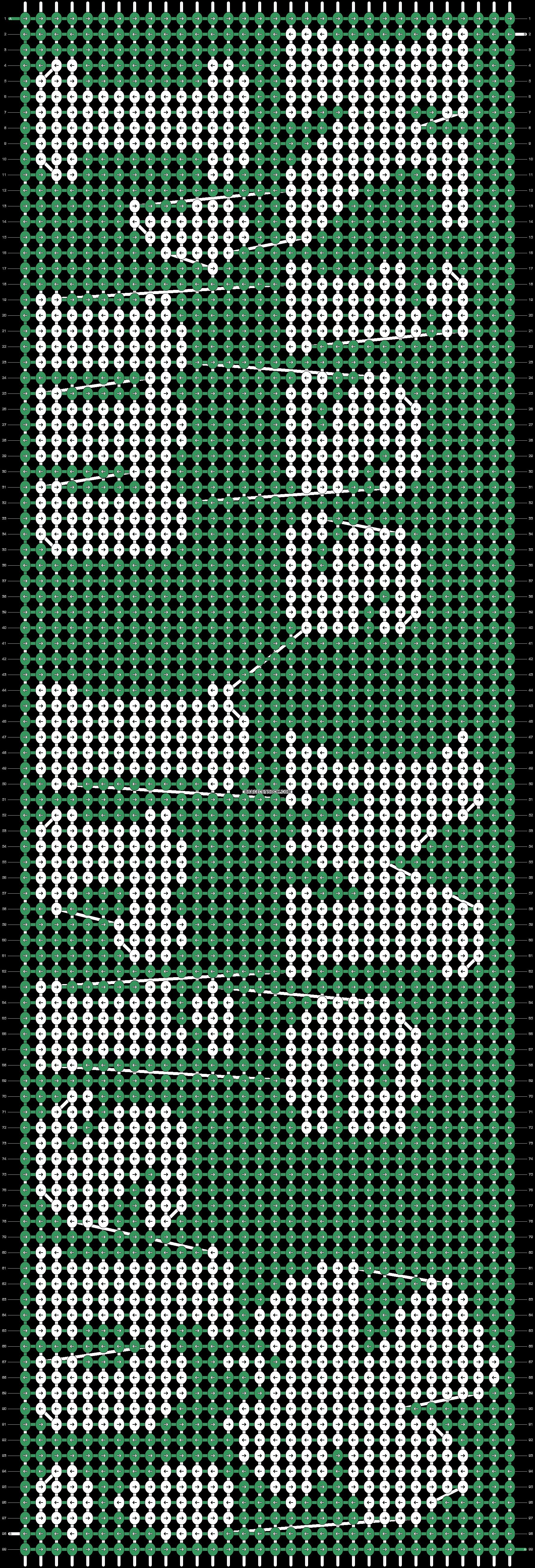 Alpha pattern #13125 pattern