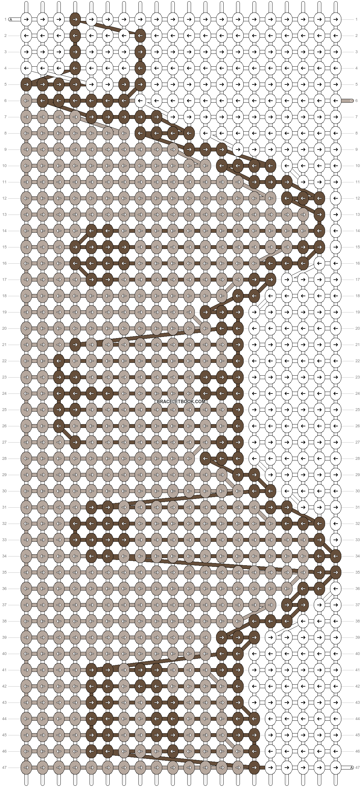 Alpha pattern #13127 pattern