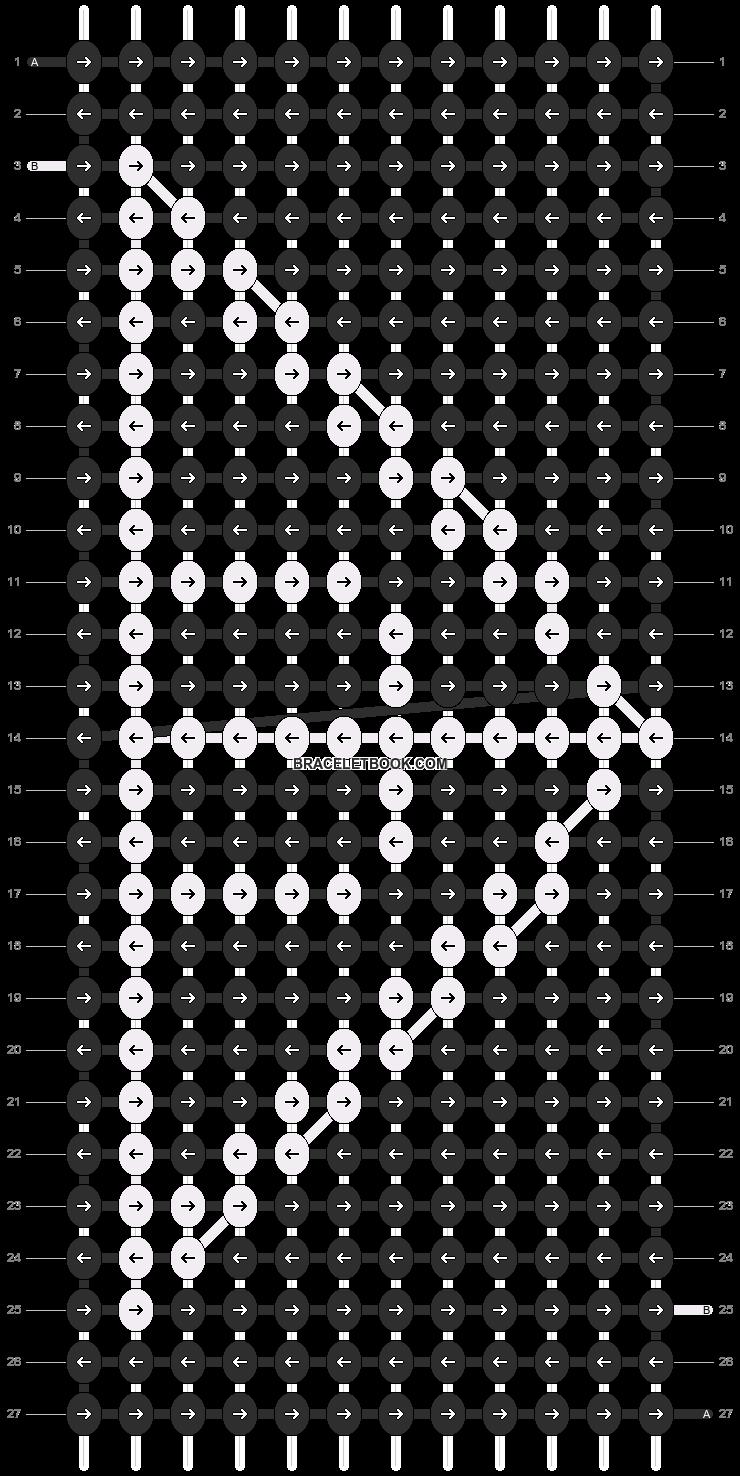 Alpha pattern #13128 pattern