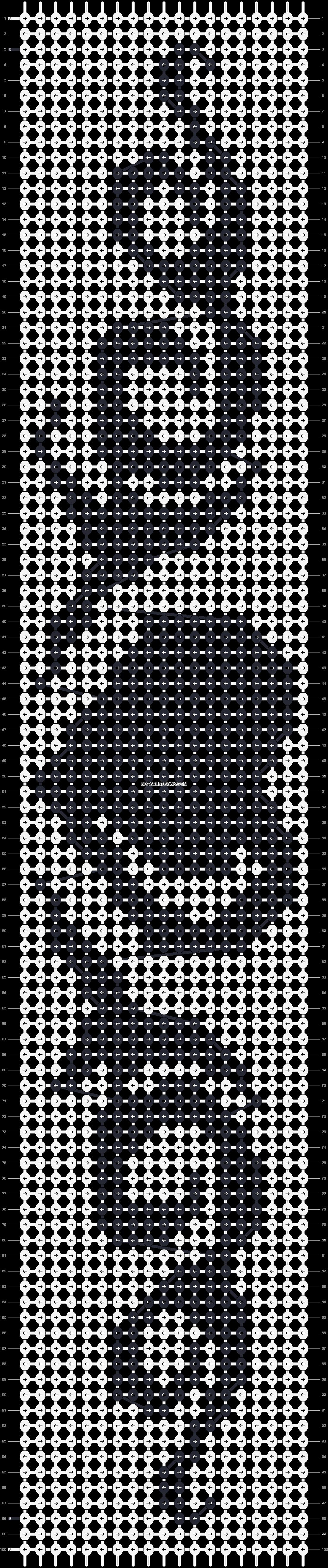 Alpha pattern #13139 pattern