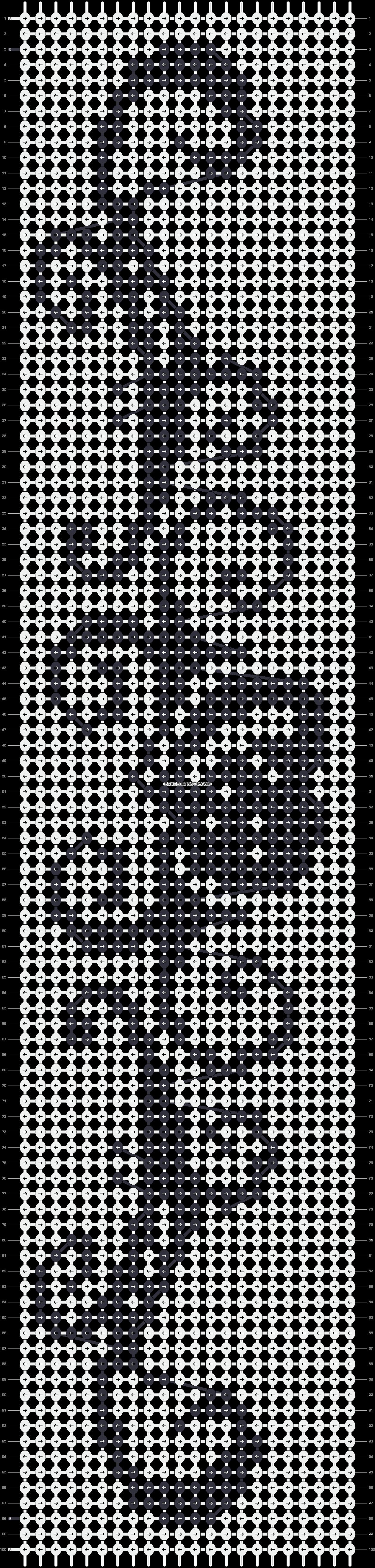 Alpha pattern #13140 pattern