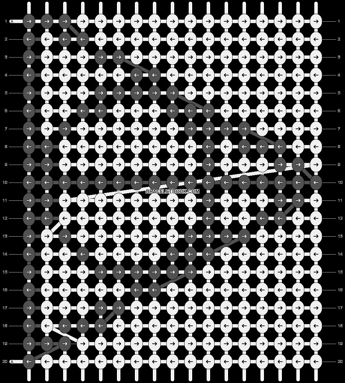 Alpha pattern #13143 pattern