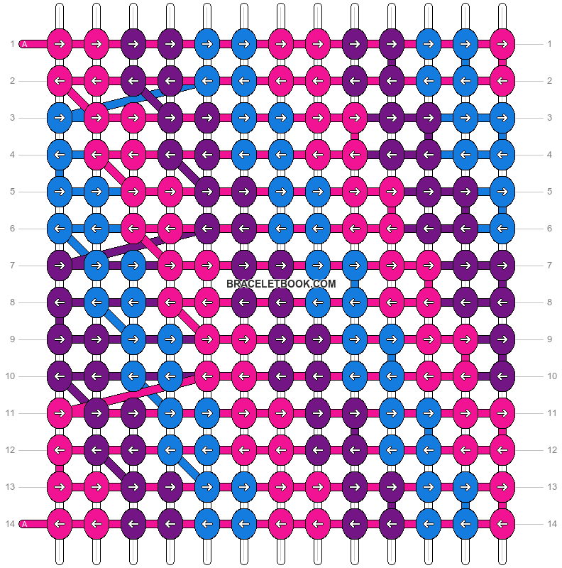 Alpha pattern #13157 pattern