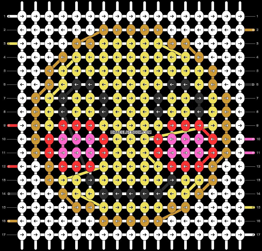 Alpha pattern #13158 pattern