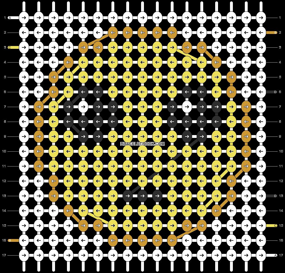 Alpha pattern #13162 pattern