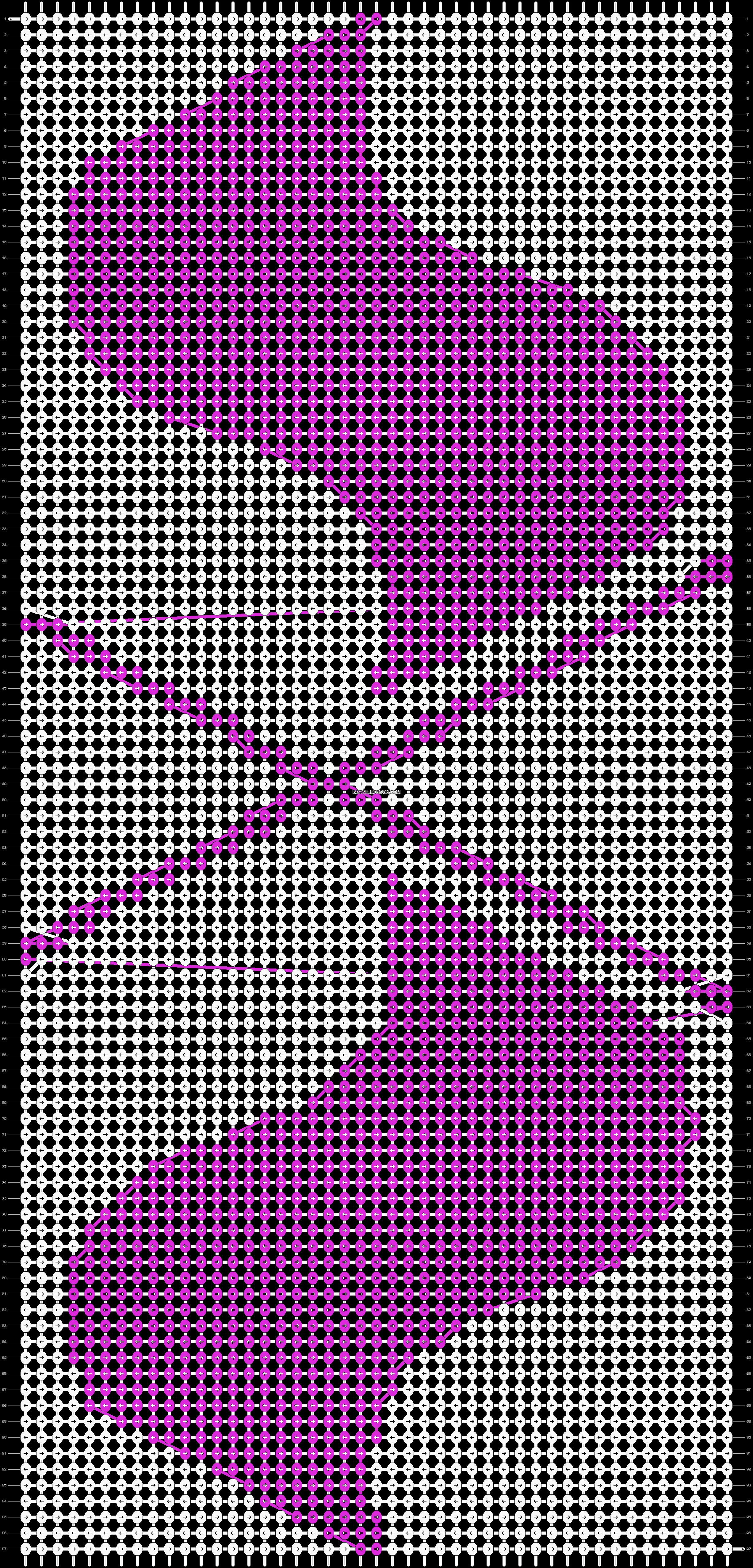 Alpha pattern #13164 pattern