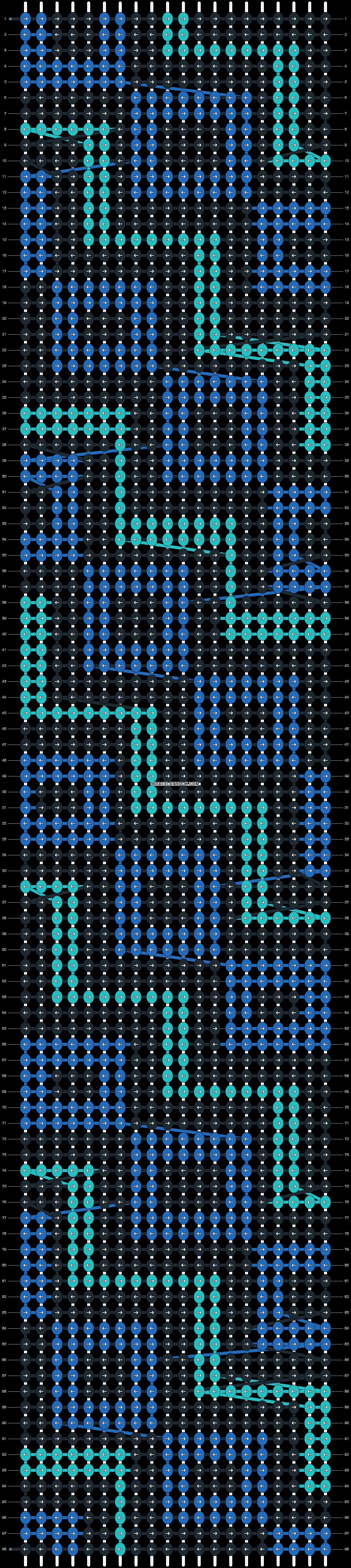 Alpha pattern #13167 pattern