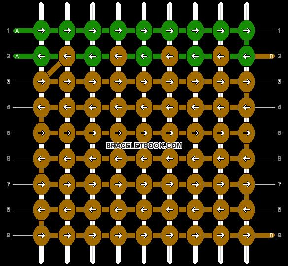 Alpha pattern #13174 pattern