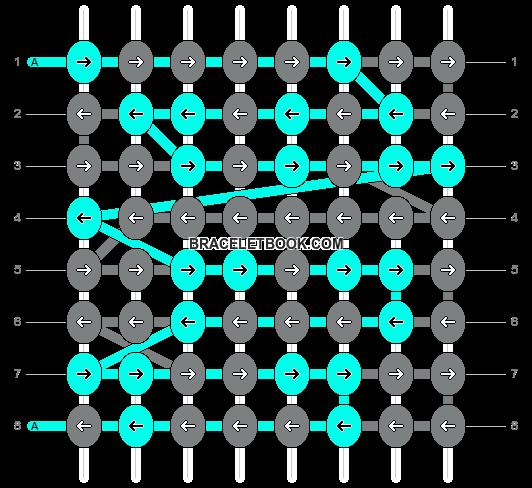 Alpha pattern #13176 pattern