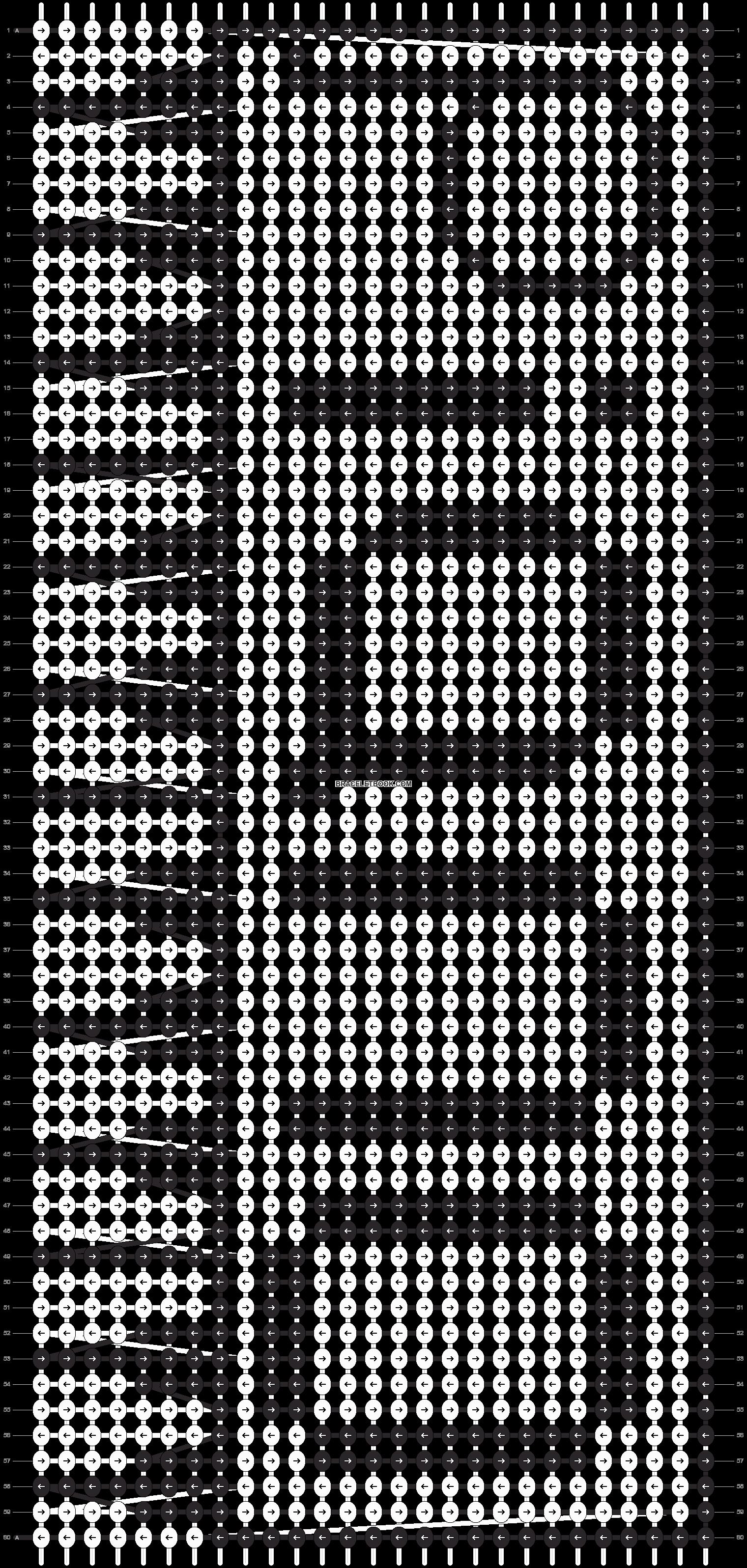 Alpha pattern #13179 pattern