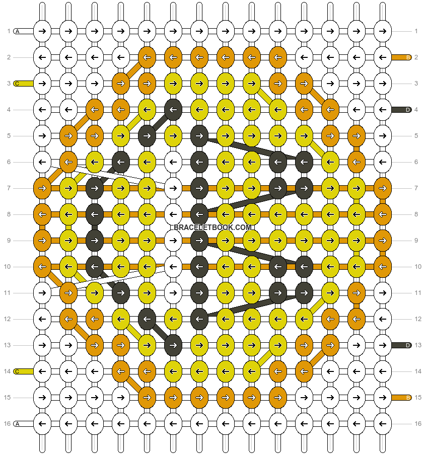 Alpha pattern #13180 pattern