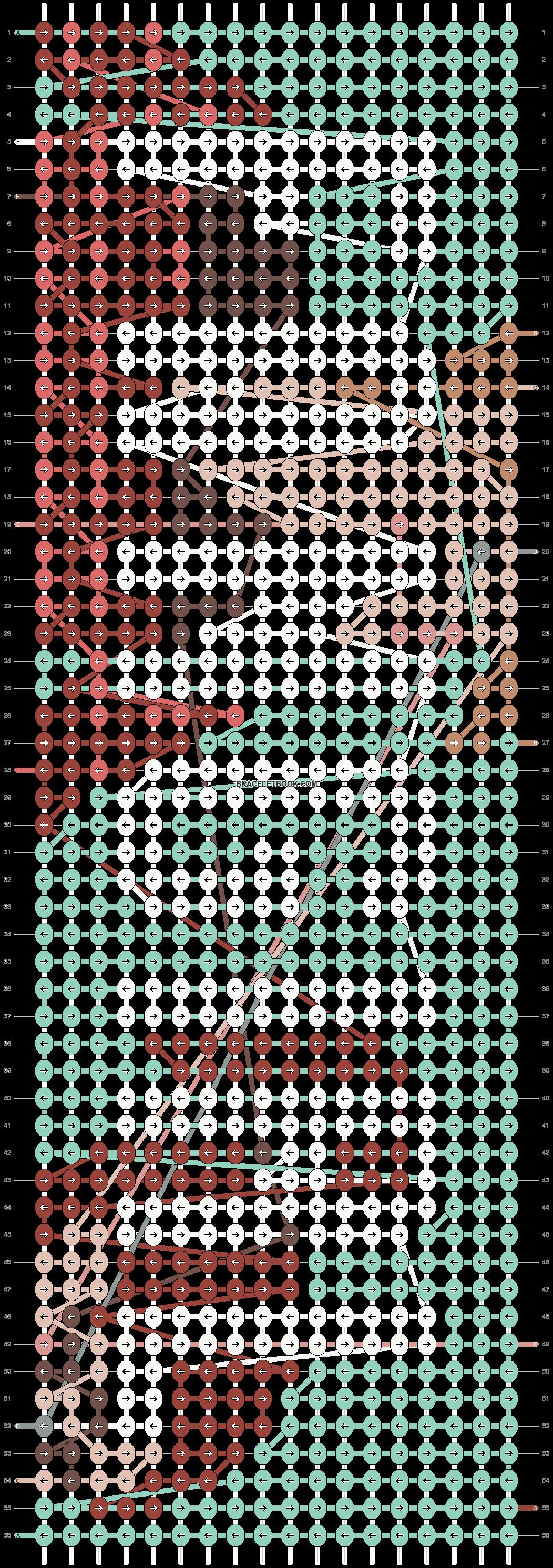 Alpha pattern #13186 pattern