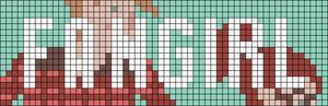 Alpha pattern #13186