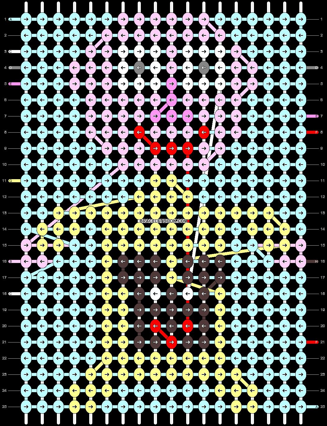 Alpha pattern #13189 pattern