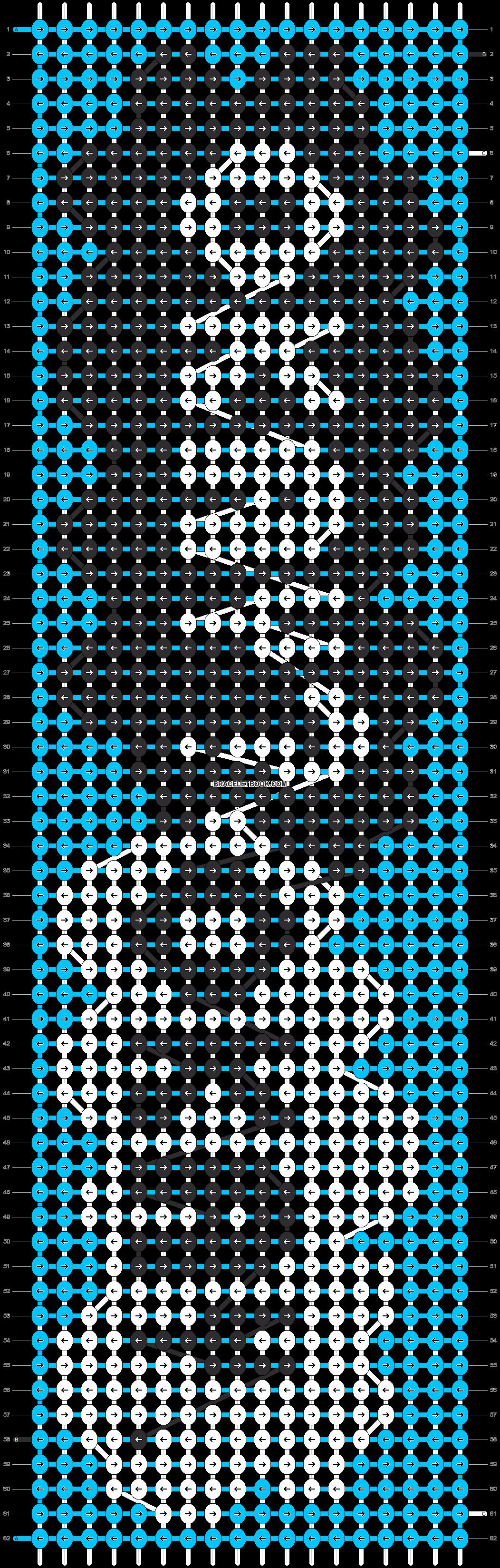 Alpha pattern #13194 pattern