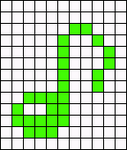 Alpha pattern #13204