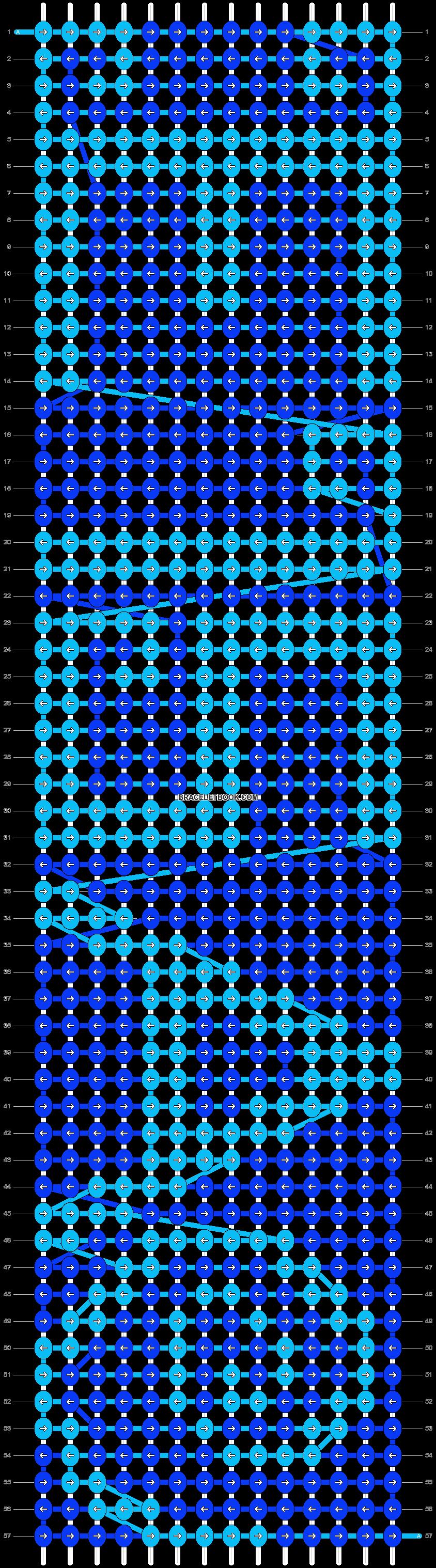 Alpha pattern #13208 pattern