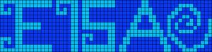Alpha Friendship Bracelet Pattern #13208