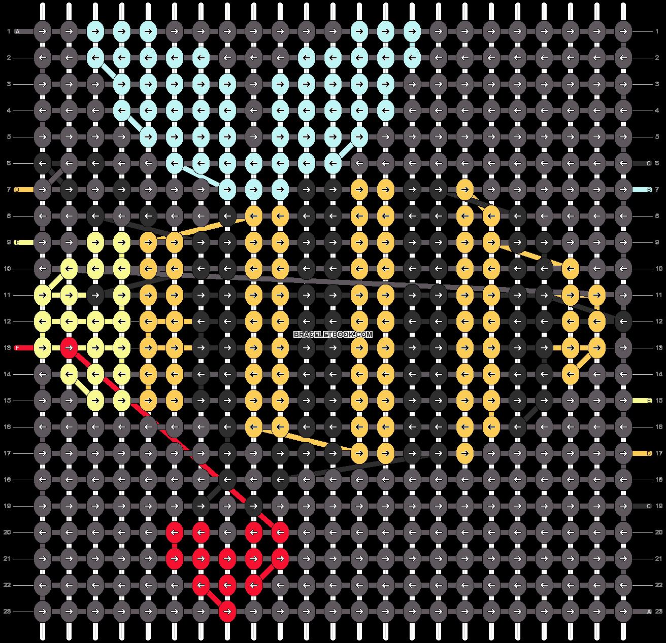 Alpha pattern #13211 pattern