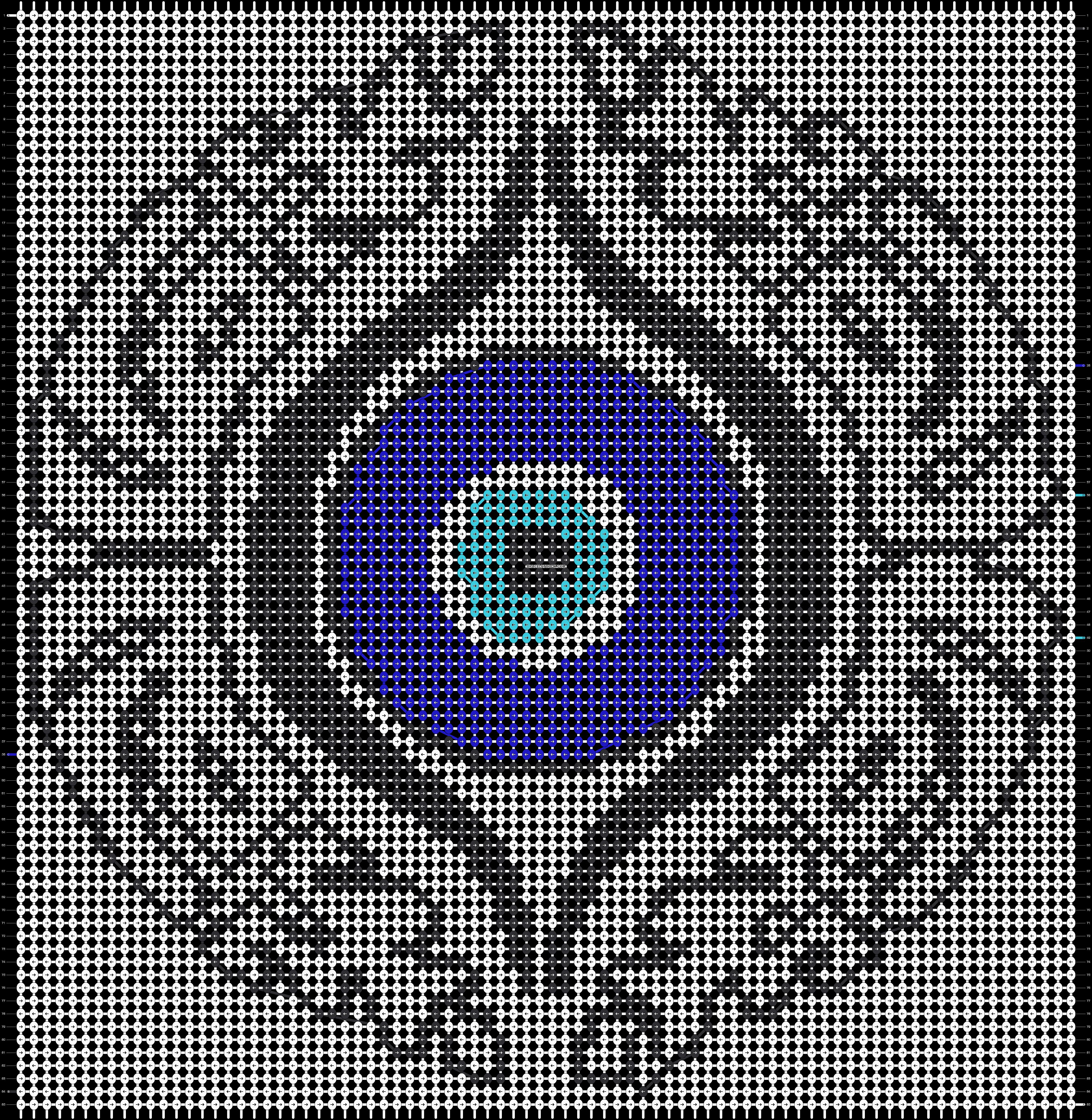 Alpha pattern #13212 pattern