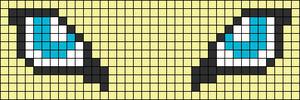 Alpha Friendship Bracelet Pattern #13215