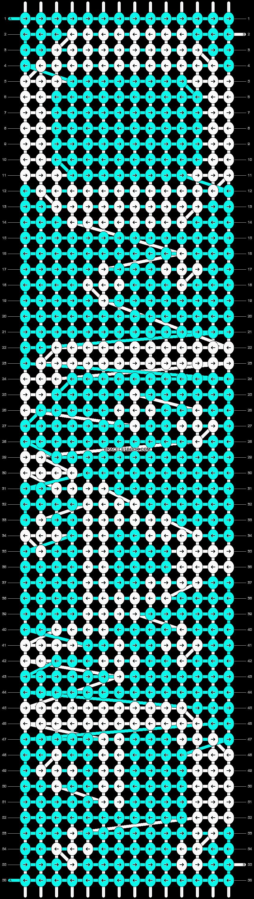 Alpha pattern #13223 pattern