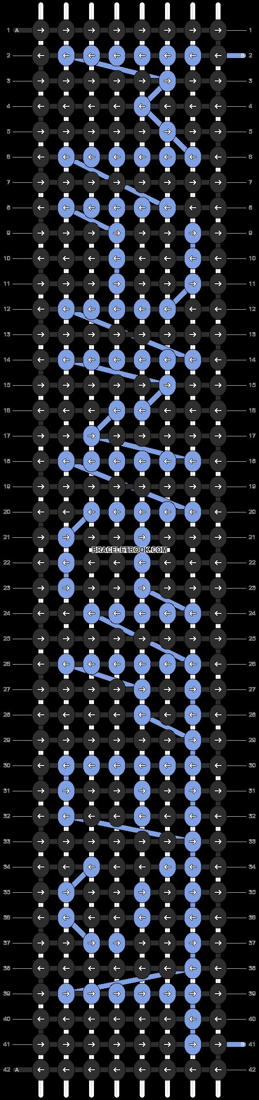 Alpha pattern #13225 pattern