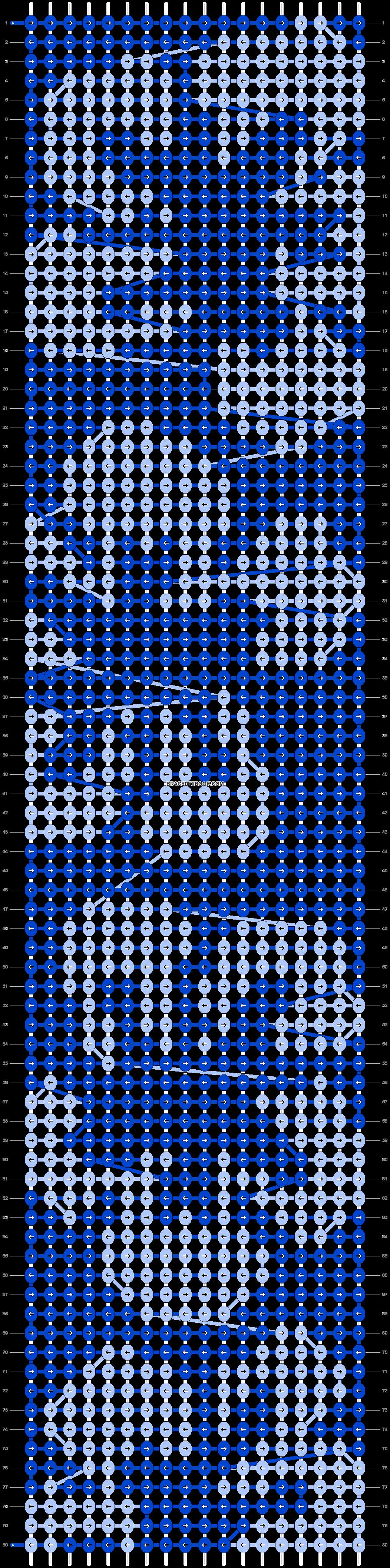 Alpha pattern #13228 pattern