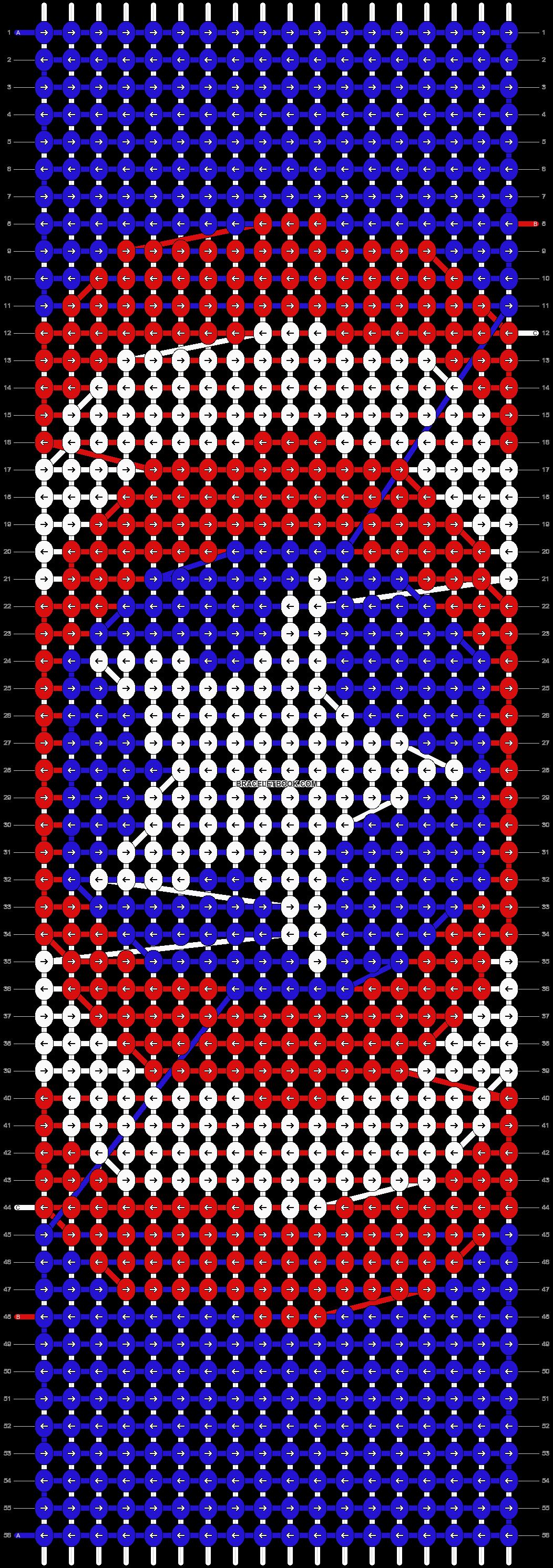 Alpha pattern #13233 pattern