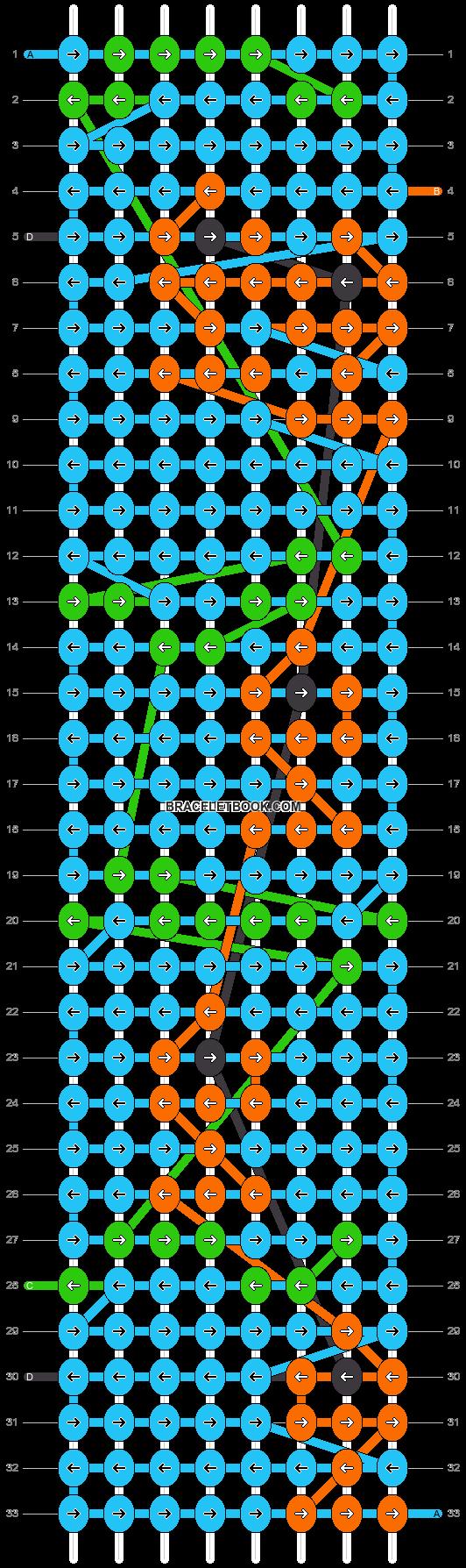 Alpha pattern #13235 pattern