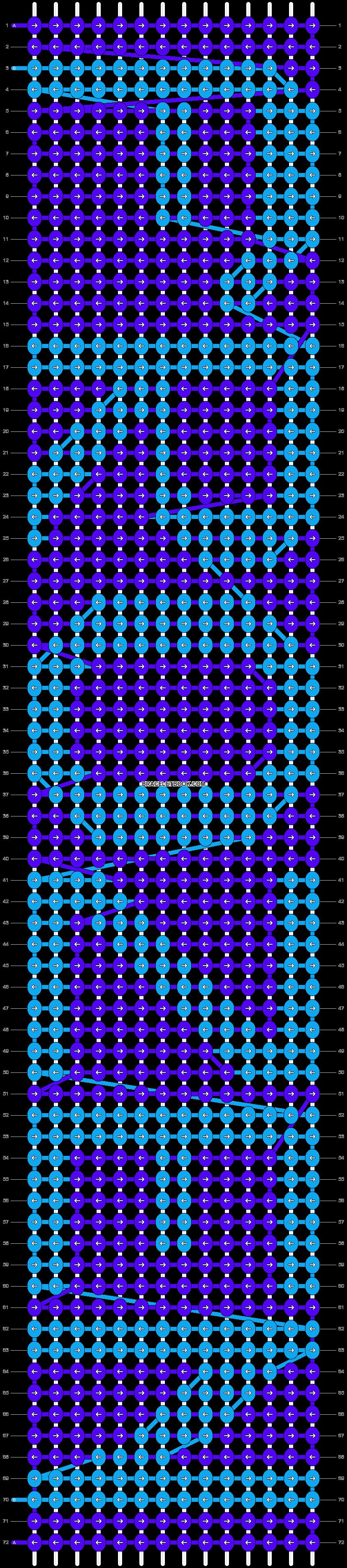 Alpha pattern #13238 pattern