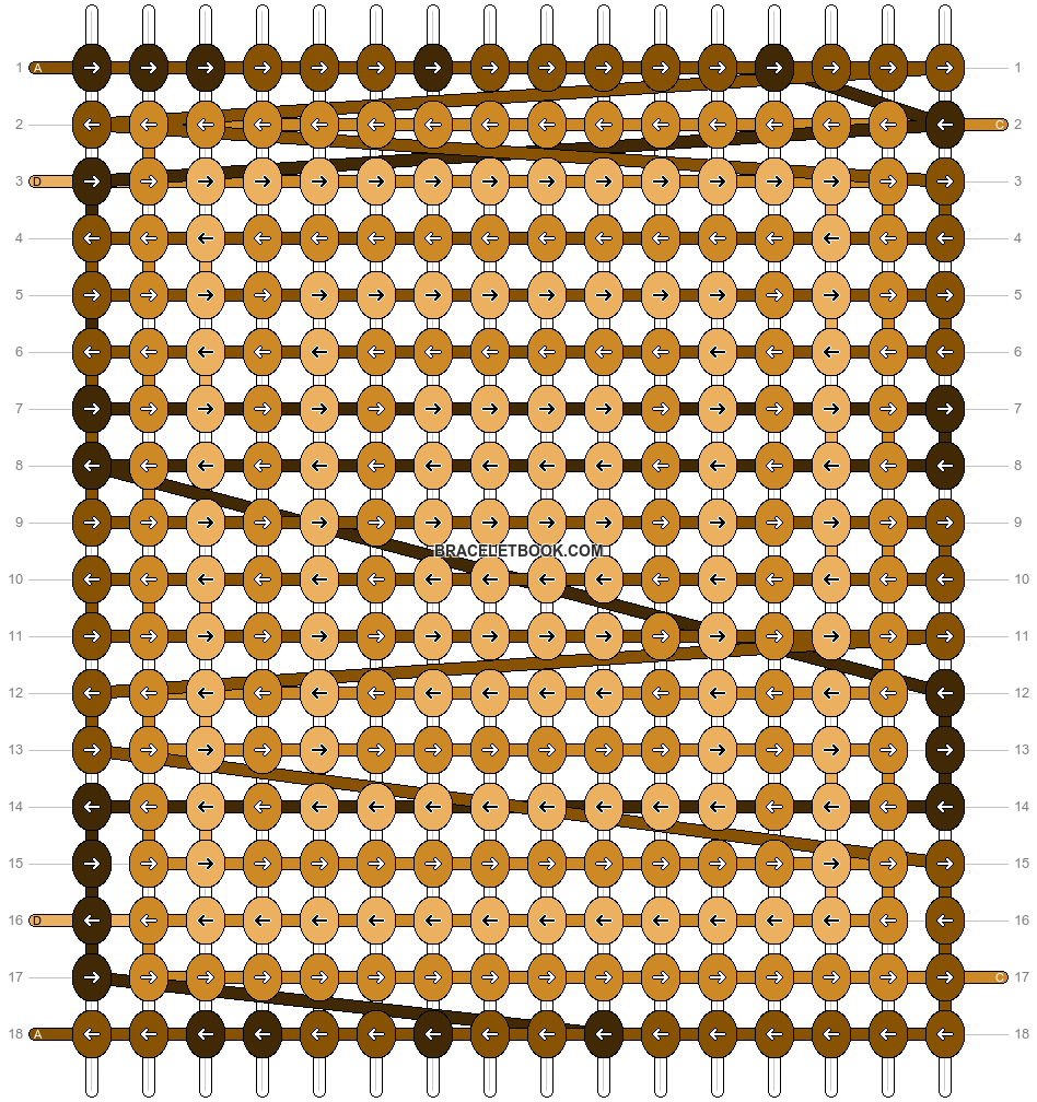 Alpha pattern #13240 pattern