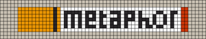Alpha Friendship Bracelet Pattern #13241