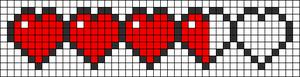 Alpha Friendship Bracelet Pattern #13244