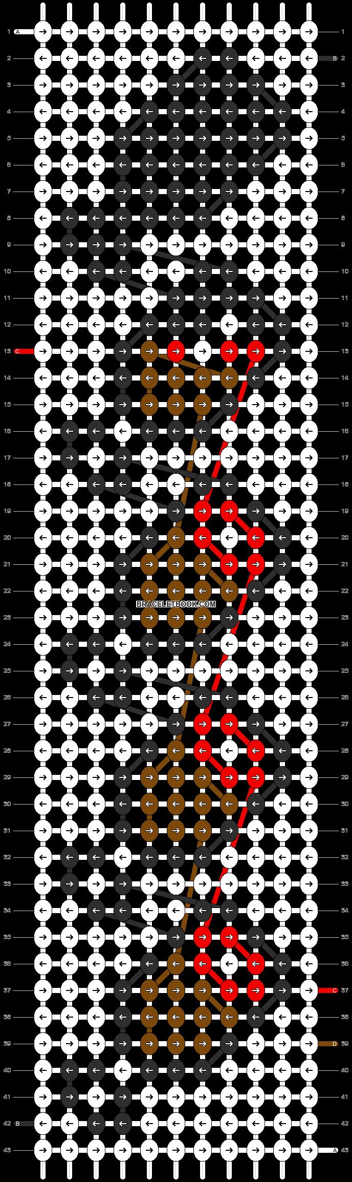 Alpha pattern #13248 pattern