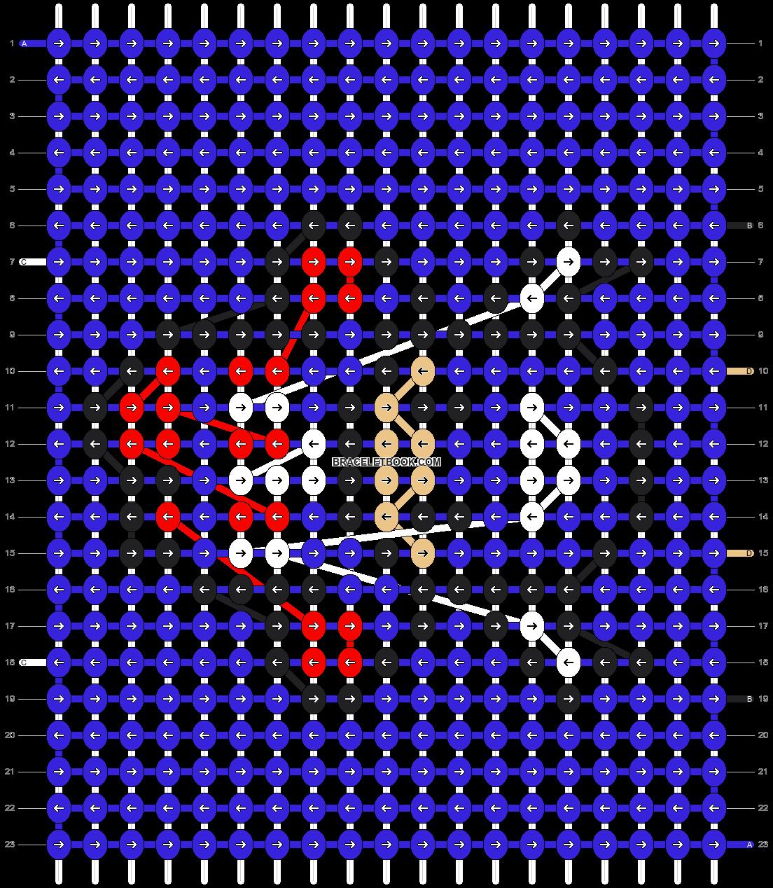 Alpha pattern #13255 pattern