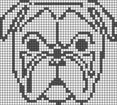 Alpha pattern #13256